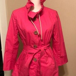 Reposh- J. Crew pink raincoat